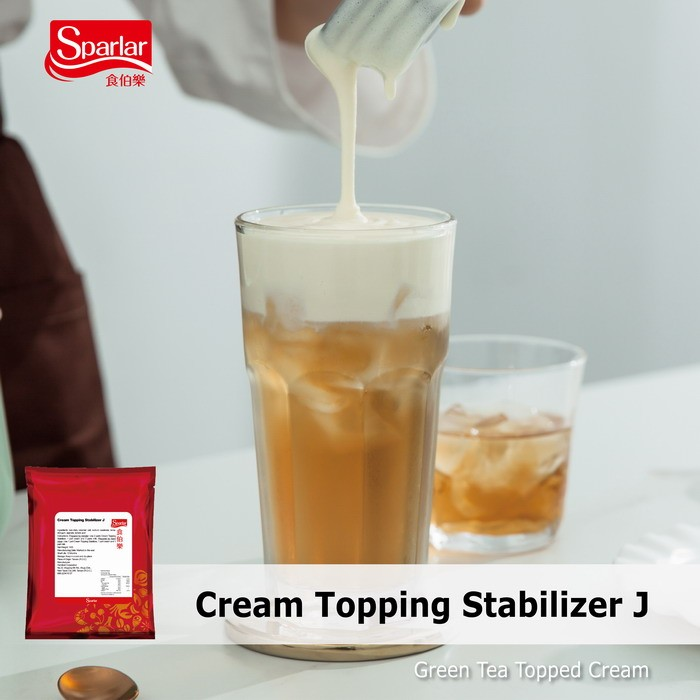 Sparlar Cream Topping Stabilizer J_Green Tea