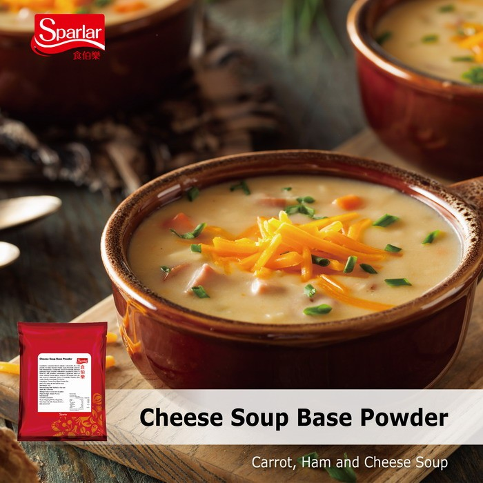Sparlar Cheese Soup Base Powder_Cheese Soup