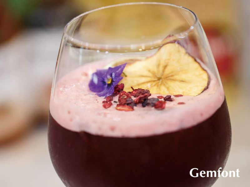 Oriental Beauty Tea Mocktail