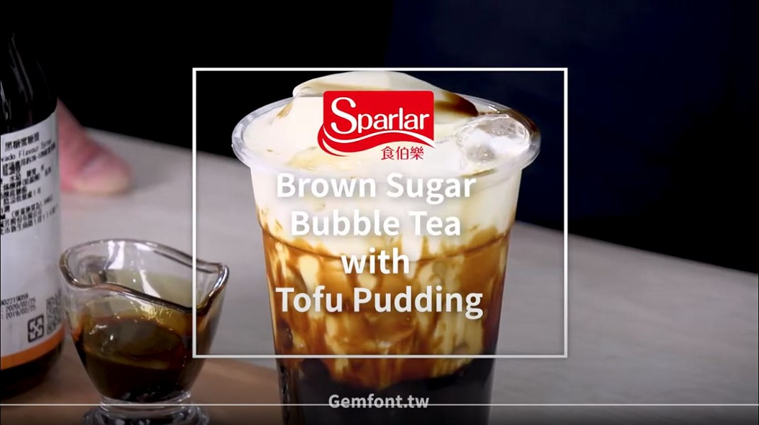 Sparlar Brown Sugar Bubble Tea with Tofu Pudding
